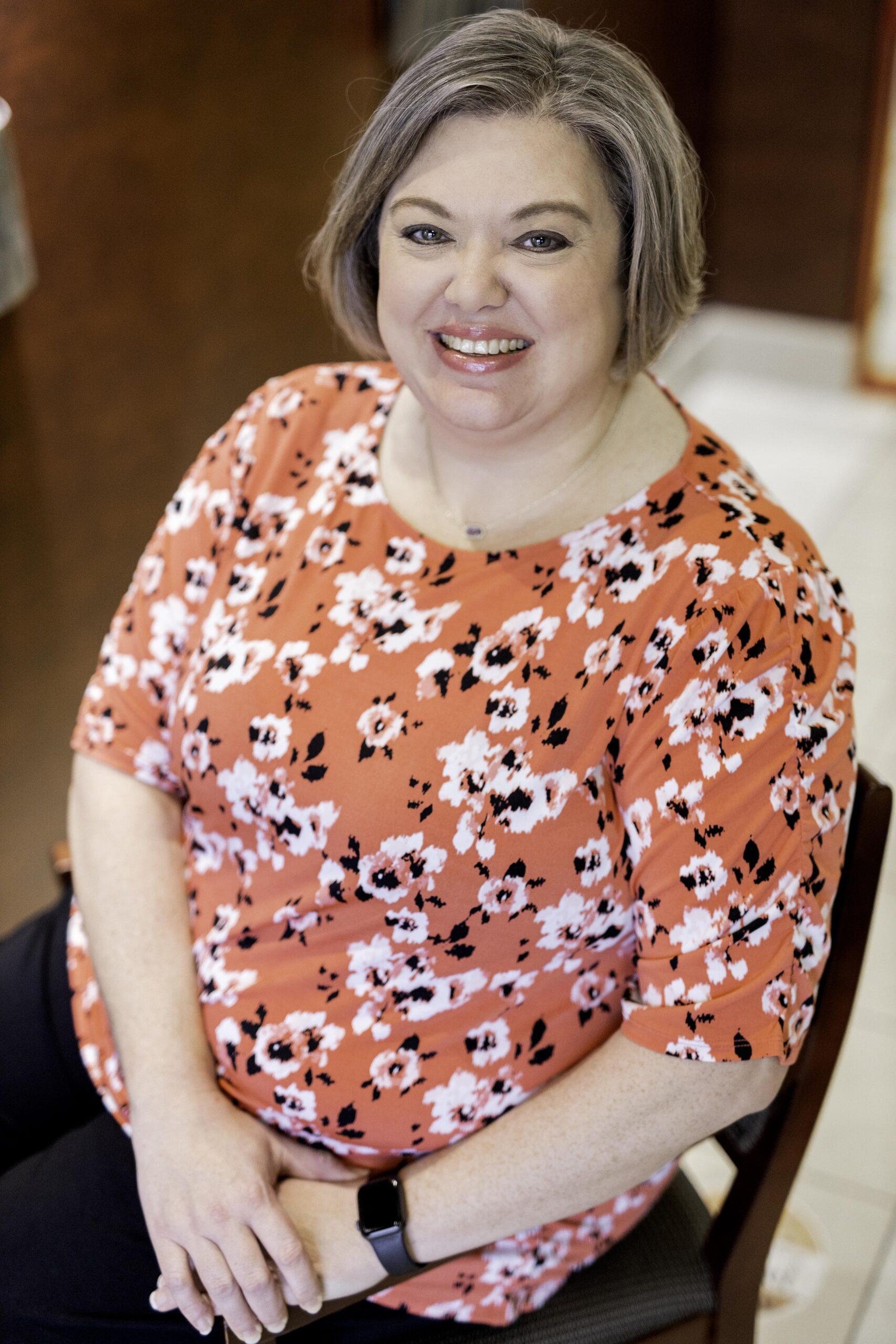 photo of bank employee katie hodges