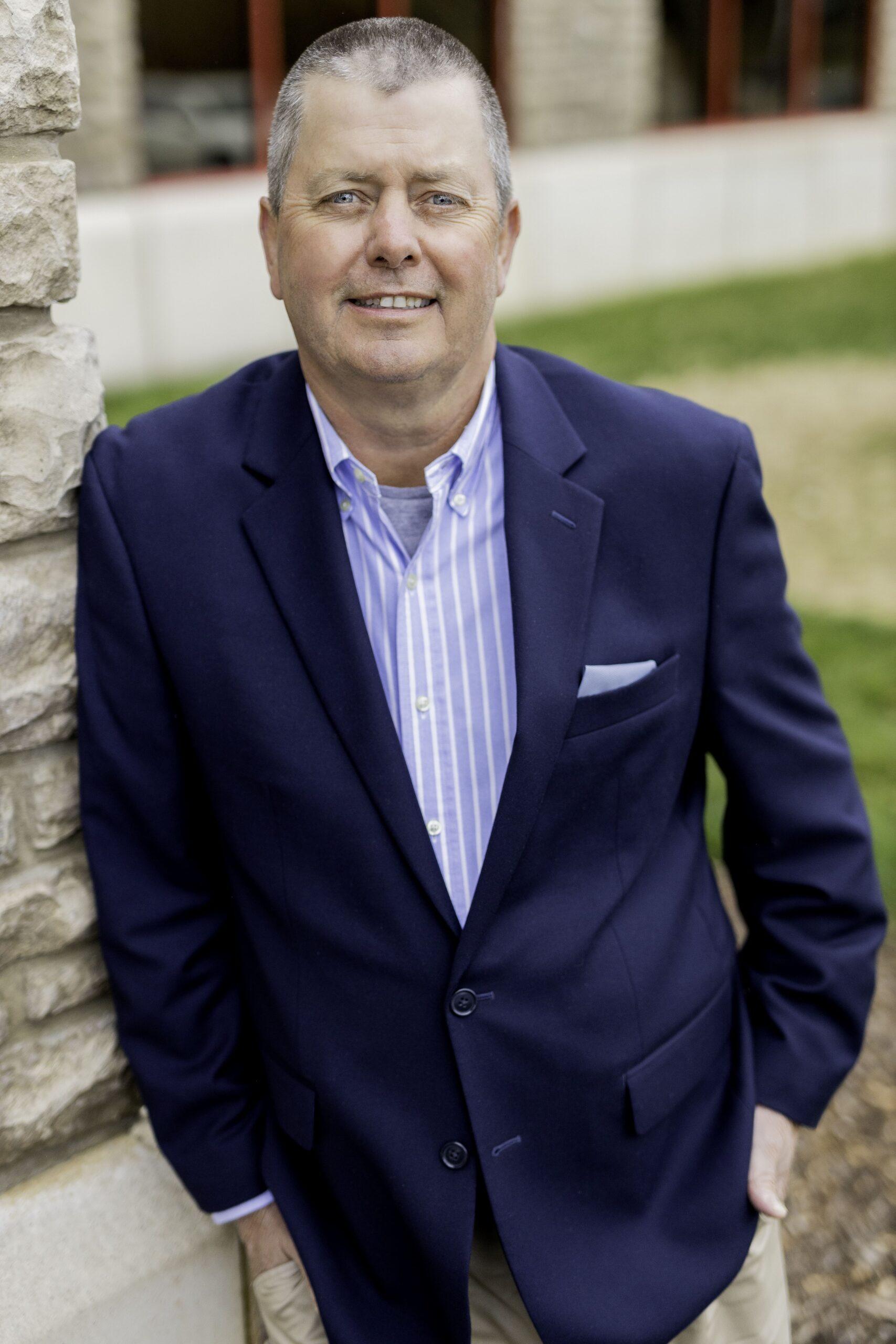 photo of bank employee mark luebbert