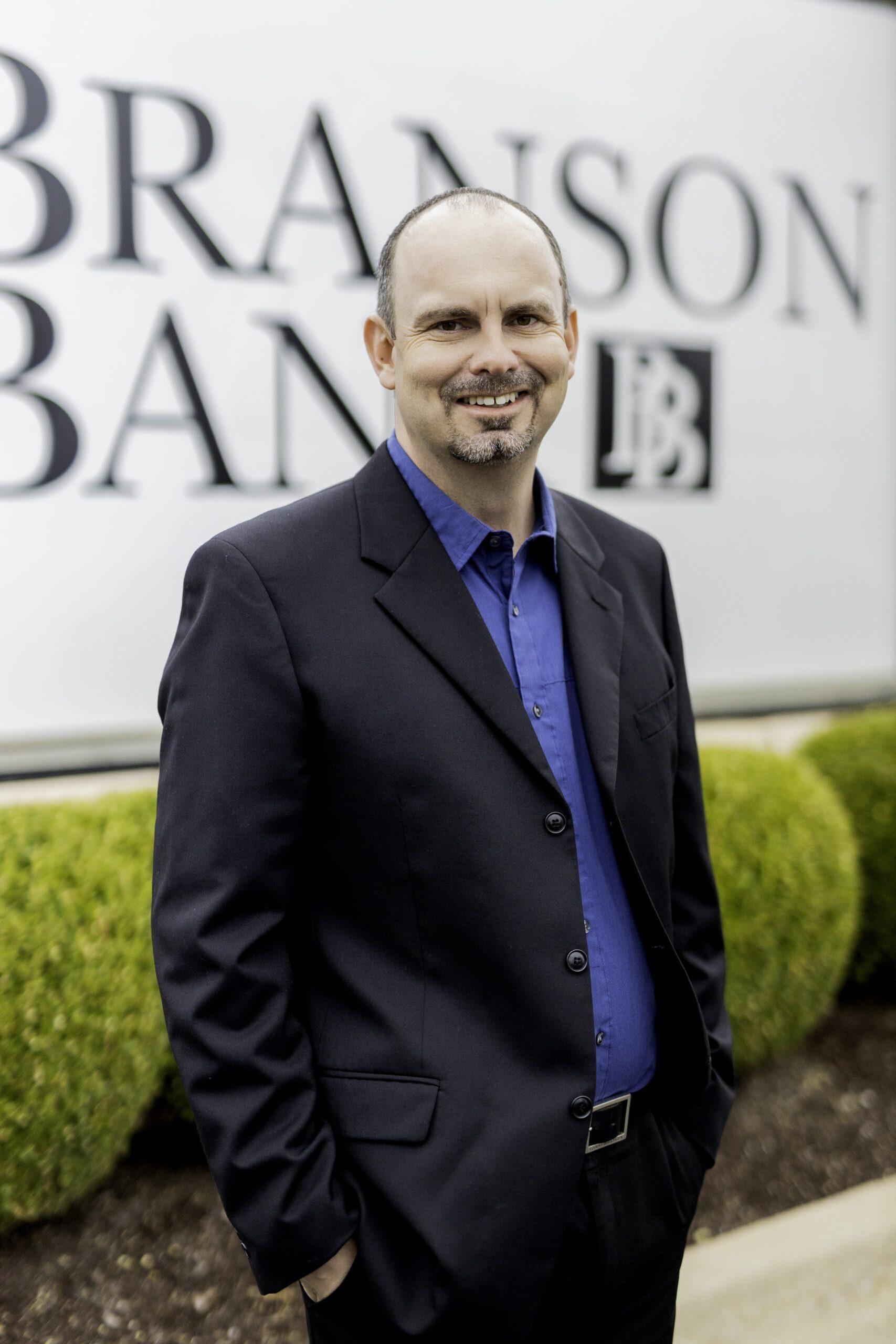 photo of bank employee ryan sanders