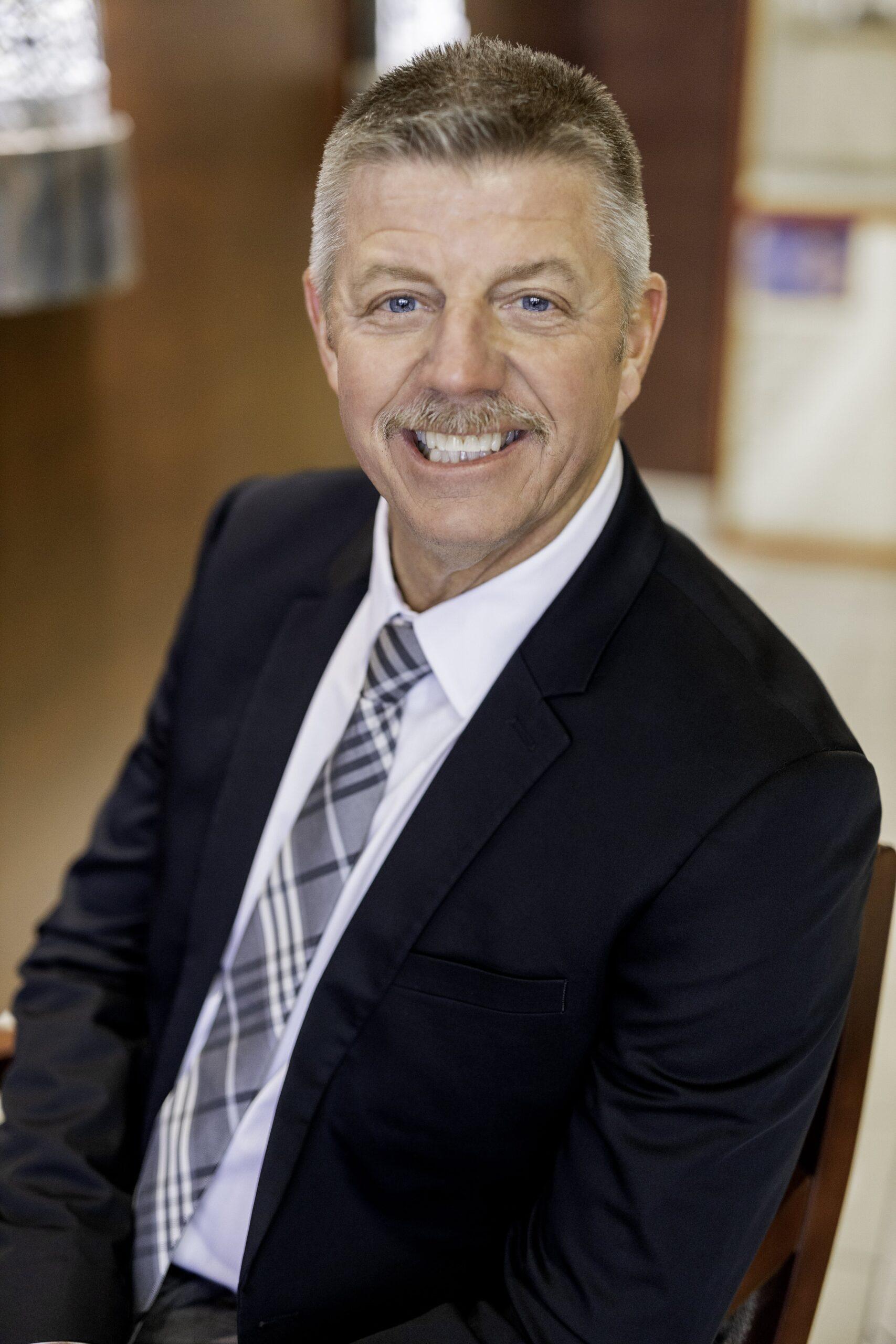 photo of bank employee tom boyce